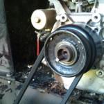 Chipper Maintenance - Replacing Key in Keyway